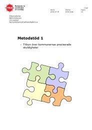 Metodstöd 1 - Myndigheten för samhällsskydd och beredskap