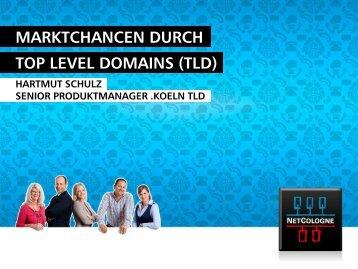 MARKTCHANCEN DURCH TOP LEVEL DOMAINS (TLD) - NetCologne