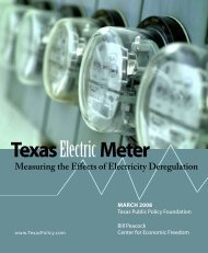 Measuring the Effects of Electricity Deregulation - Texas Public ...