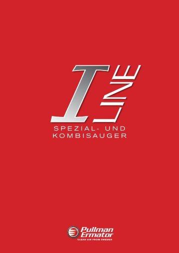 Download PDF- Broschüre I-line Spezial- und Kombisauger - Ermator