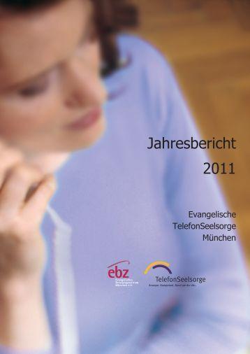 Jahresbericht 2011 - Evangelische Telefonseelsorge München