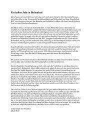 Bericht von Jakob Dörr 2012/2013