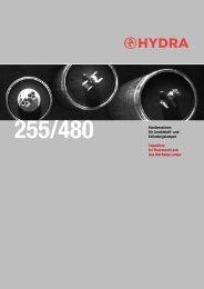 Kondensatoren für Leuchtstoff- und Entladungslampen ... - HYDRA as