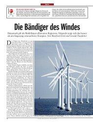 Die Bändiger des Windes