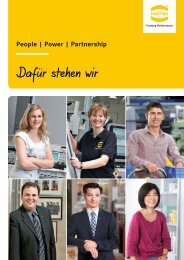 People | Power | Partnership - HARTING Karriere