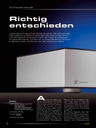 """""""einsnull"""" Ausgabe 01/2011 - Lindemann audiotechnik GmbH"""