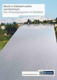 Bleche in Edelstahl rostfrei und Aluminium D - ThyssenKrupp ...
