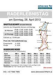 FlyerSchwarz-Weiß_Raderlebnistag 2013 - Attersee