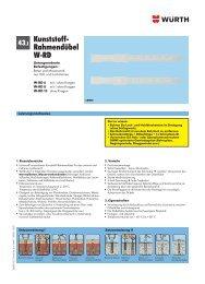 Kunststoff- Rahmendübel W-RD - Würth - Online-Shop