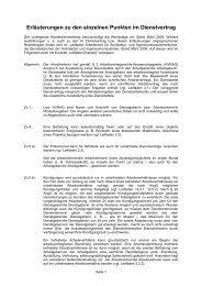 Dienstvertrag - Erläuterungen 2011 - Kammer der Architekten und ...