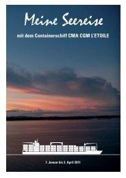 Bericht über meine Seereise - Jocham-Schiffe