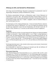 Wirkung von AHL und Harnstoff zu Winterweizen - Bayerische ...