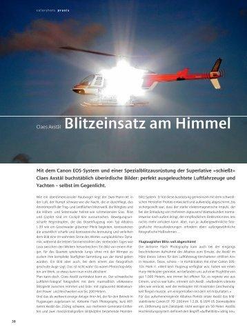 Claes Axstål Blitzeinsatz am Himmel - Claes Axstål, Photographer