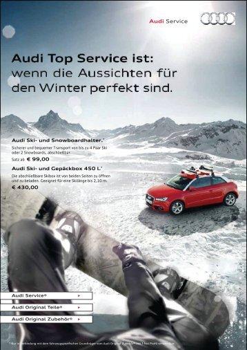 Winter in Sicht. - Auto & Service