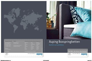 Auping Boxspringbetten - Schneider
