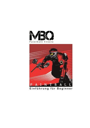 Broschüre Paintball fü Beginner - MBQ Paintball Events