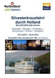 Folder MS Switzerland Silvester zum Download