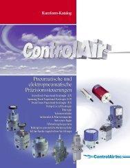 Pneumatische und elektropneumatische ... - ControlAir