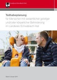 Teilhabeplanung - Landkreis Schwäbisch Hall