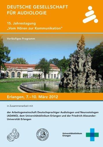 Deutsche Gesellschaft für auDioloGie - My Medical Education