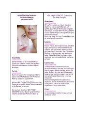 NEW TREND CONTOUR LINE Permanent Make-up ... - Art & Beauty