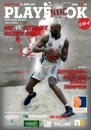 nBc VS. OETTINGER ROCKETS GOTHA - Nürnberger Basketball Club