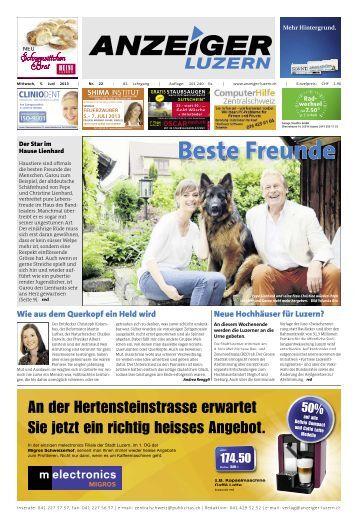 Anzeiger Luzern, Ausgabe 22, 5. Juni 2013