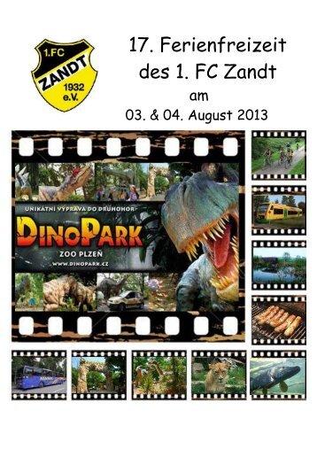 17. Ferienfreizeit des 1. FC Zandt - beim 1. FC Zandt eV
