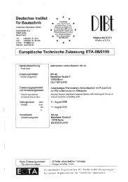Europäische Technische Zulassung bito EPS (PDF, ca. 2 - Bito AG