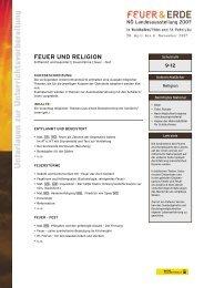 FEUER UND RELIGION