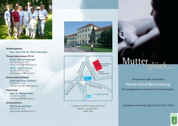Bitte beachten Sie unseren Folder im pdf-Format - LSF Graz