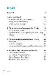 Inhalt - GABAL Verlag