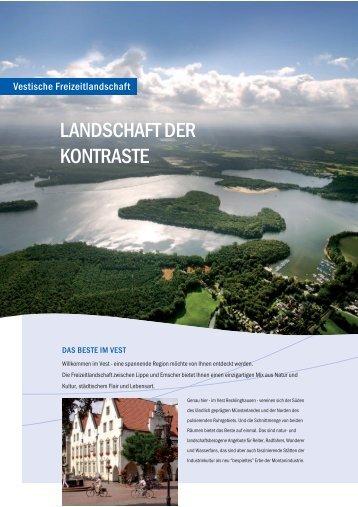 LANDSCHAFT DER KONTRASTE - Kreis Recklinghausen