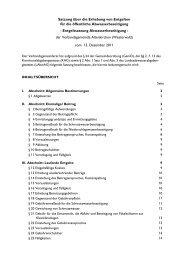 Entgeltsatzung Abwasserbeseitigung 2012 - Verbandsgemeinde ...