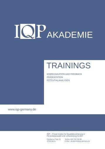 IQP Akademie Trainings v1.3