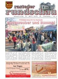 rasteder rundschau, Ausgabe März 2010