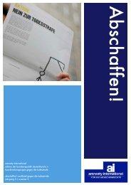 amnesty international sektion der bundesrepublik deutschland e.v. ...