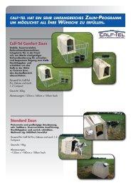 Calf-Tel Comfort Zaun Standard Zaun
