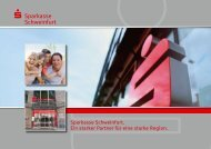 Unternehmensleitbild - Sparkasse Schweinfurt
