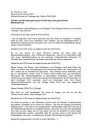 Dr. Heinrich L. Kolb Rede vom 28. Februar 2013 Aktuelle Stunde auf ...