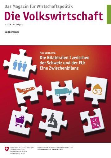 Die Volkswirtschaft - admin.ch