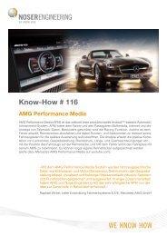 Mercedes-AMG - Noser Engineering AG