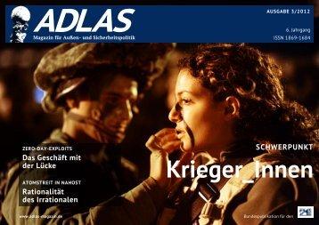 03/2012 - Adlas - Magazin für Sicherheitspolitik