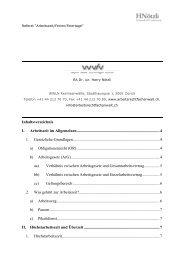 Referat zum Thema Arbeitszeit/Ferien/Feiertage