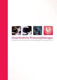 Unverbindliche Preisempfehlungen - Original schweizer ...