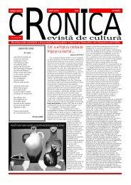 Iunie 2012 - Revista CRONICA Iaşi