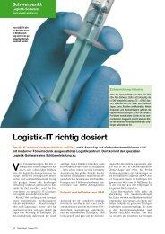 Logistik-IT richtig dosiert