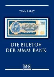 DIE BILETOV DER MMM-BANK M S - Gietl Verlag