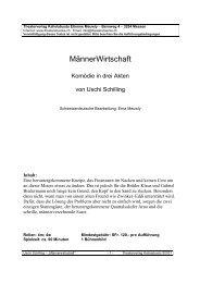 MännerWirtschaft - Theaterverlag Kaliolabusto