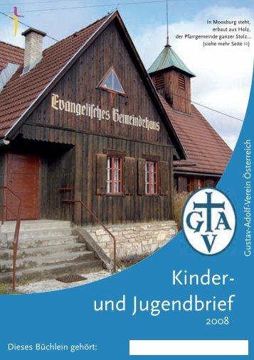 Kinder - und Jugendbrief - Gustav-Adolf-Verein in Österreich ...